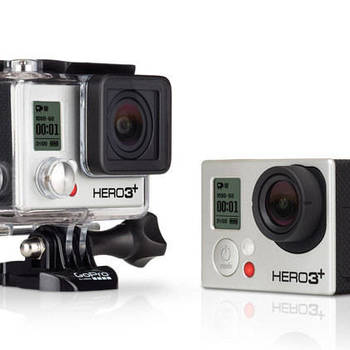 Rent GoPro 3 with waterproof case and chest mount.