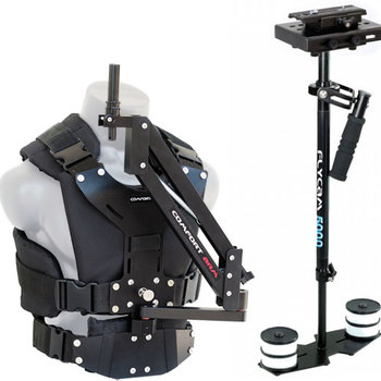 Rent Flycam 5000 steadicam and vest with comfort arm