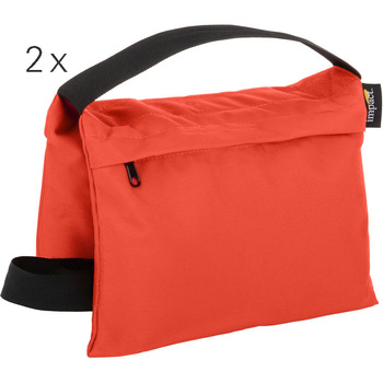 Rent Two Saddle Sandbags (15 lb, Orange)