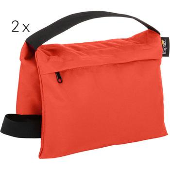Rent Two Saddle Sandbags (15 lb, Orange)