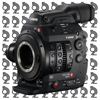 Rent Canon EOS C300 Mark II Cinema Camera + (2) 128GB Cards