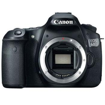 Rent Canon EOS 60D 18 Megapixel Digital SLR Camera Body