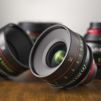 Rent Canon CN-E Primes (4 Lens Set)