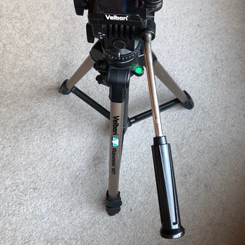 Rent Velbon Videomate 607 Aluminum Tripod with Traveling Case
