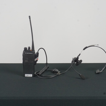 Rent Motorola Two-Way Radio w/Headset