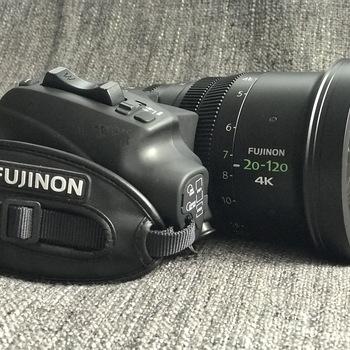 Rent Fujinon 20-120mm T3.5 Cabrio Premier PL Lens