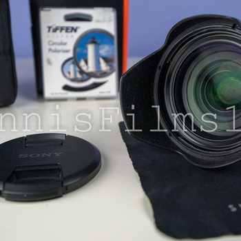 Rent Sony FE 24-70mm f/2.8 GM Lens • 82mm Polarizer Filter