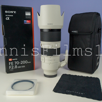 Rent SONY FE F/2.8 GM Lens Kit: 24-70 mm • 70-200 mm