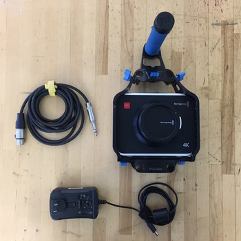 Rent Black Magic 4K Camera Body