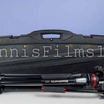 Rent Motorized Camera Slider • Manfrotto Tripod Kit