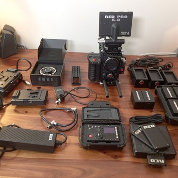 Rent Red Epic Dragon Fully loaded Bundle