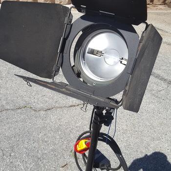 Rent 3-light Arrilight 1 K open face kit
