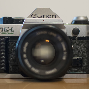 Rent Canon AE-1 Program Film Camera with 50mm Lens
