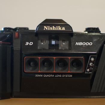 Rent Nishika N8000 3D Quadrascopic Film Camera