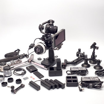 Rent DJI Osmo RAW X5R Kit with CrystalSky Monitor
