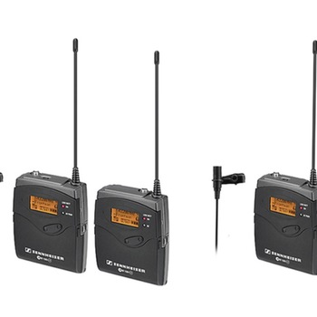 Rent 2 Sennheiser G3 Wireless Lavaliers (LAV)