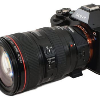 Rent Sony A7S with EF Mount MetaBones Adaptor and 24-105mm L Series Canon Lens