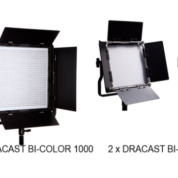 Rent 1x1 LED BiColor 1000 & 2 x 500 LED BiColor Dracast LIGHT KIT