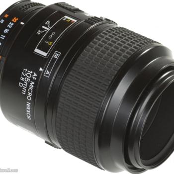 Rent Nikon 105mm f/2.8  FX AF MICRO-NIKKOR