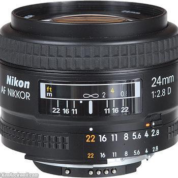 Rent Nikon 24mm F/2.8 D