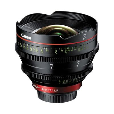 Canon 14mm cinema prime ef lens