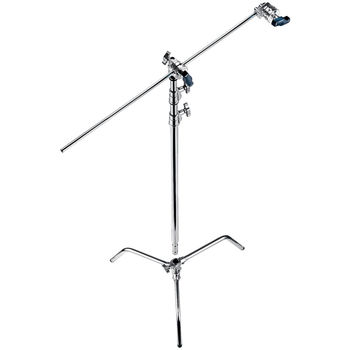 "Rent 5x 40"" Avenger C-stand w/ heads and arm"
