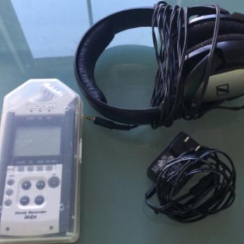 Rent Audio Package Zoom H4n + Sennheiser ME64/66 K6- Boom & Blimp