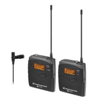 Rent Sennheiser 2 lavalier microphones / Zoom h4n