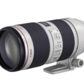 Rent Canon EF 70-200mm f/2.8 L