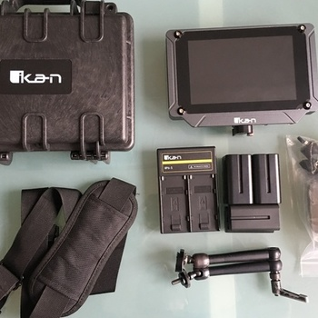 "Rent Ikan Saga SX7 7"" High-Brightness 3G-SDI/HDMI Field Monitor"