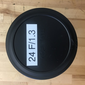 Rent CN-E 24mm T1.3 L F Cinema Prime Lens