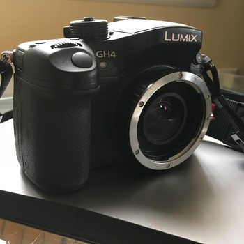 Rent Panasonic GH4 + Booster + F1.3 Lens