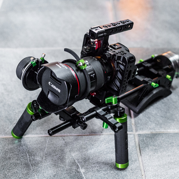Rent Shoulder Rig with Follow Focus and Sony A7s II