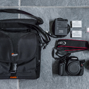 Rent Canon T3i Starter Kit with Lenses and Travel Bag