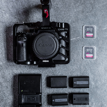Rent Sony A7S II DSLR Camera Body with Cage a7sii
