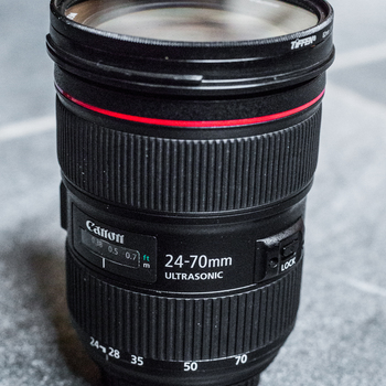 Rent Canon 24-70mm f/2.8L II Camera Lens