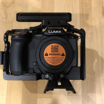 Rent Panasonic GH5s w/ Metabones XL adaptor and cage
