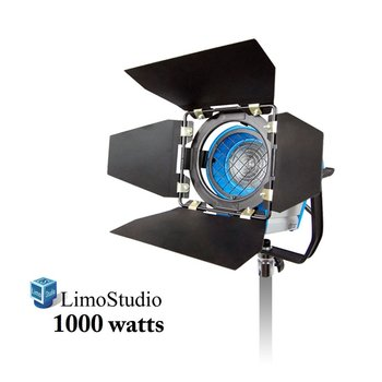 Rent LimoStudio 1000 Watt Photography Photo Video Studio Light Head, Film and Television Tungsten Fresnel Continuous Light Spotlight, AGG1028