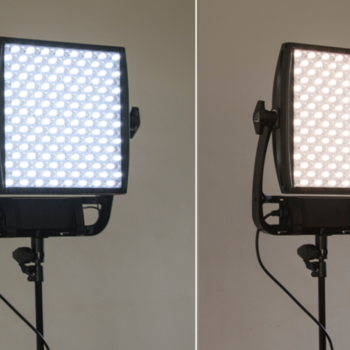 Rent Set of TWO Astra 1X1 Bi Color LED Panels w/ Stands & Travel Case