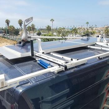 Rent Off The Grid Production Van