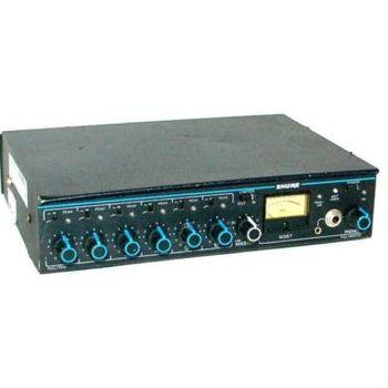 Rent Shure microphone mixer 6 channel m367 mixer