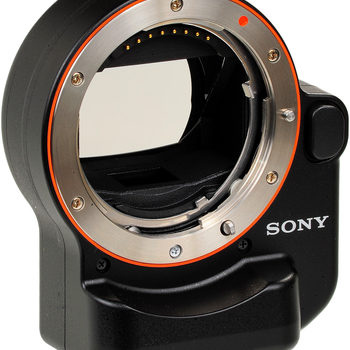 Rent Sony LA-EA4  A-mount to E-mount FF lens adapter