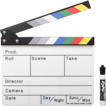 Rent Alan Gordon Color Combo Scene Slate with Pouch and Marker