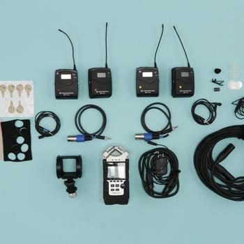 Rent Audio Kit w/Zoom H4n & (2) Sennheiser G3 Lavs
