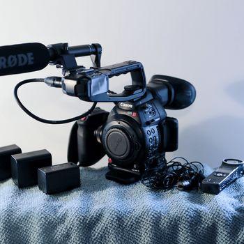 Rent Canon C100 MKII Kit