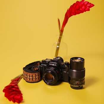 Rent Minolta X-700 35mm Film Camera w/2 lenses