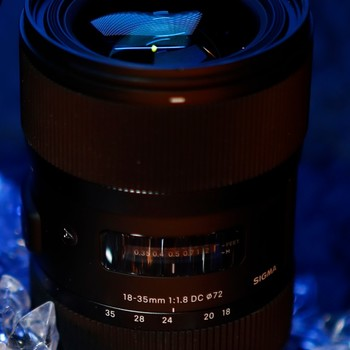 Rent Sigma 18-35 f/1.8 ART Lens for EF Mount