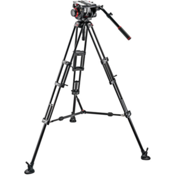 Rent  Manfrotto 536 Carbon Fiber Tripod with 509HD Video Head