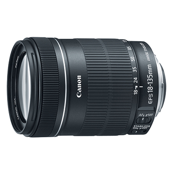 Rent Canon EF-S 18-135mm Zoom f/3.5-5.6 IS STM. Workhorse zoom lens with broad range and sharp image