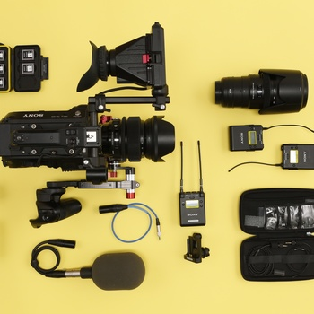 Rent  Sony FS7mk2 Cinema Camera package w/ 2 lenses & 2x Sony lavs